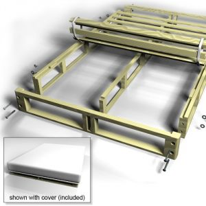 CPS premium easy fit box spring foundation