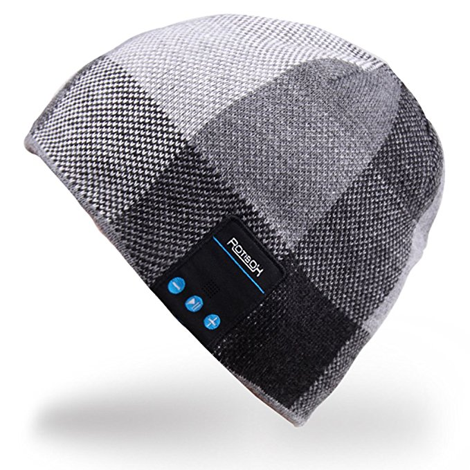 Mydeal Winter Unisex Bluetooth Beanie Hat