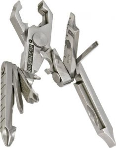 Swiss+Tech ST53100 Polished SS 19-in-1 Micro Pocket Multitool for Camping