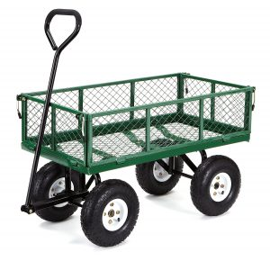 Gorilla Carts Steel Garden Cart