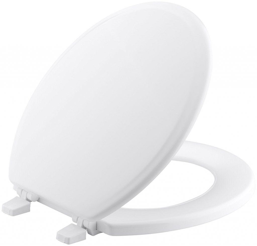 KOHLER K-4695-0 Round-Front Toilet Seat