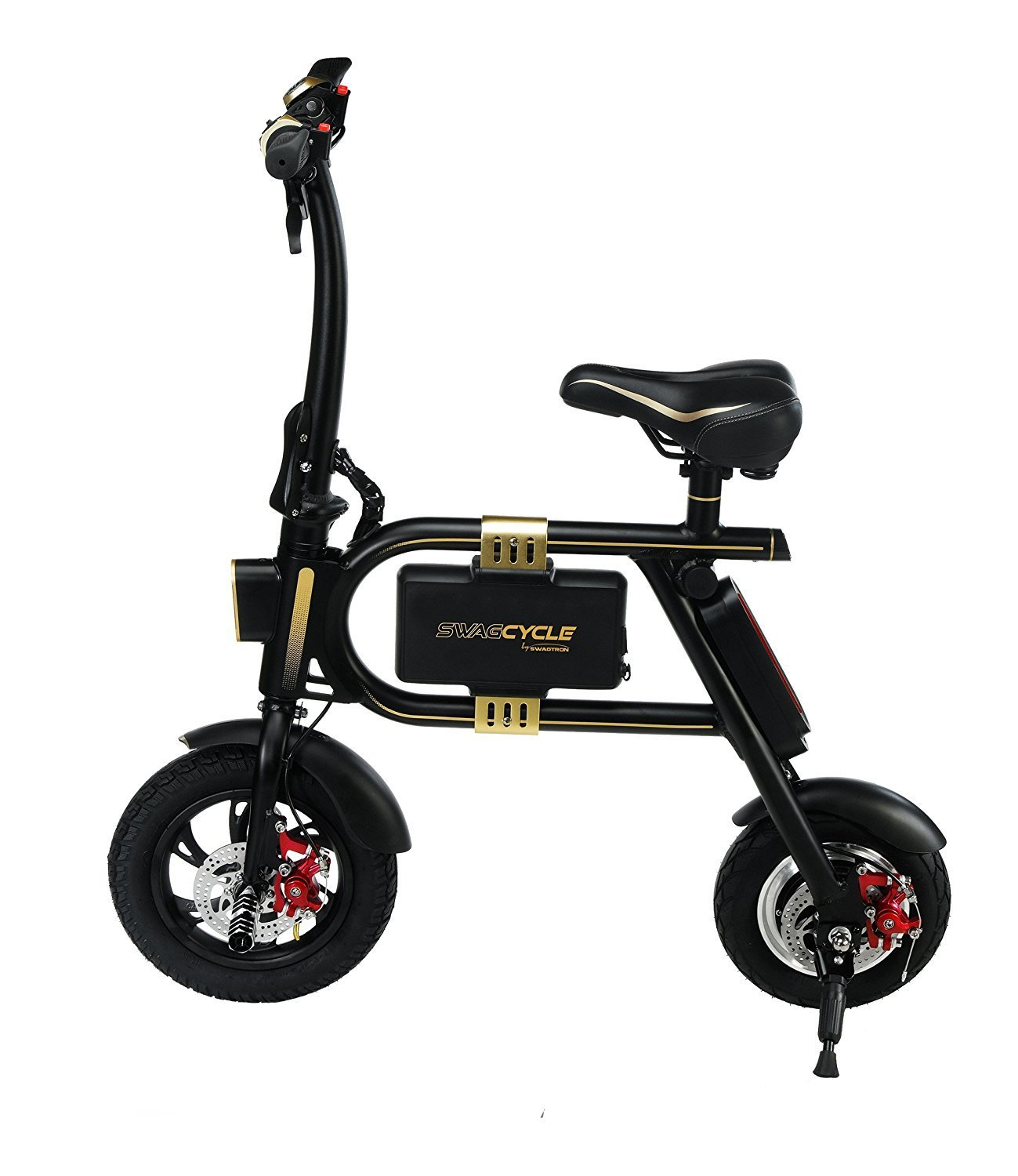 2. Swagtron SwagCycle E-Bike Folding Electric Bike