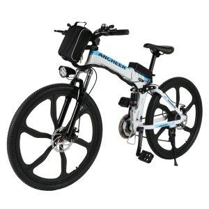 6. Ancheer Folding Electric Mountain Bike