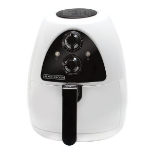 Black and Decker PuriFry, 2-Litre Air Fryer, White/Black