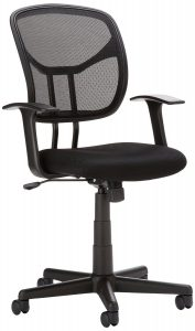 AmazonBasics Mid-Back Mesh Office Chair