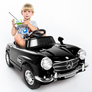 Giantex Black Mercedes Benz 300Electric Ride On Car