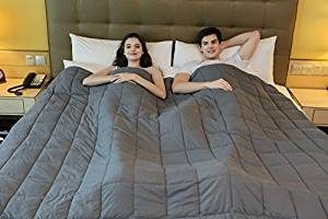 King Size Weighted Blanket by YnM for Couple,