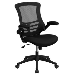Flash Furniture Mid-Back Black Mesh Swivel Office Chair