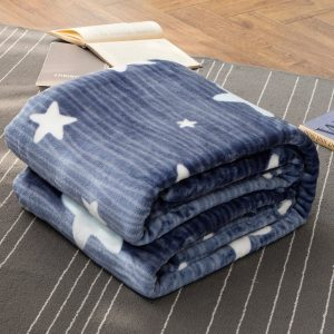 Qbedding Microplush Fleece Blanket