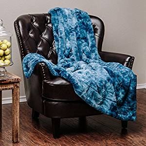 Chanasya Super Soft Fuzzy Throw Blanket