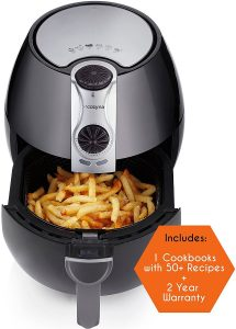 Air Fryer by Cozyna (3.7QT) with airfryer cookbooks