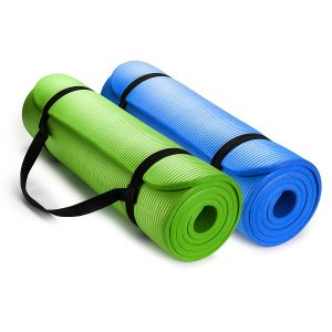 HemingWeigh 0.5 Inches Extra Thick High-Density Yoga Mat