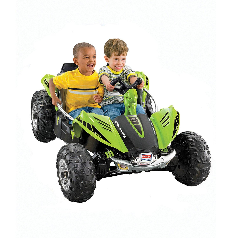 Fisher-Price Power Wheels Green Dune Racer