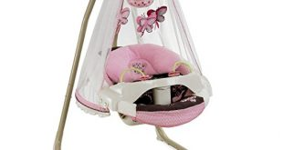 Mocha Butterfly Fisher-Price-Papasan Cradle Swing