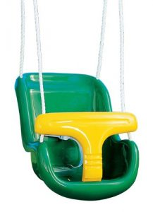 Molded Infant Swing With Rope