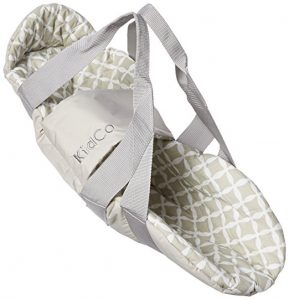 Gray Kidco Swingpod Infant Portable Swaddle Swing