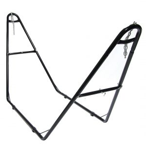 SunnydazeUniversal Multi-Use Heavy-Duty Steel Hammock Stand