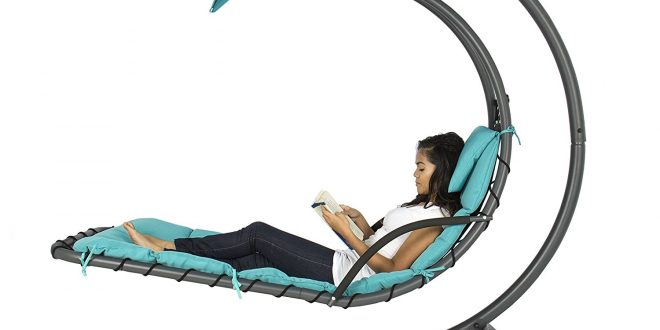 Best Choice Products Hanging Chaise Lounger Chair