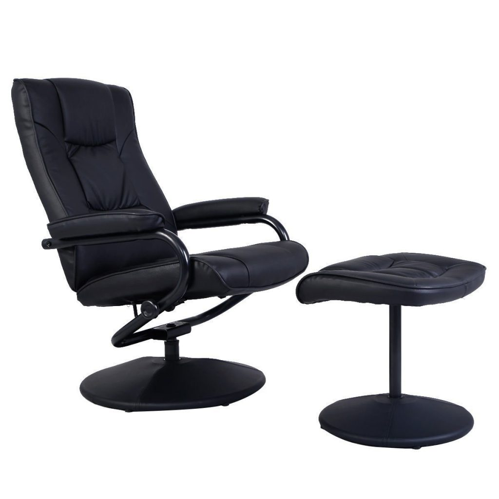 Giantex Recliner Swivel Armchair Lounge Seat