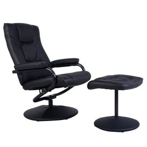 Giantex Recliner Swivel Armchair Lounge Seat