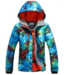 Women's Ski Jacket High Windproof Snowboard Jacket
