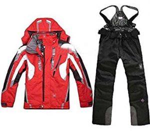 Lobezm Men Women Winter Ski Suits Waterproof Jacket and Pant