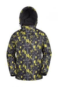 Mountain Warehouse Shadow Men's Printed Snowboarding Jacket