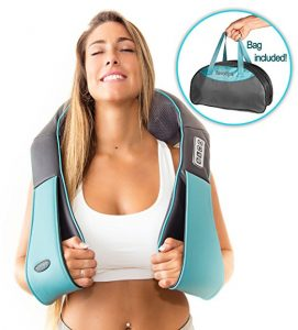 Shiatsu Back Neck and Shoulder 3D Kneading Pillow Massager for Neck and Back