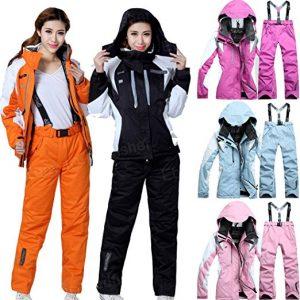 Lobezm Women's Winter Coat Pant Ski Suit Jacket