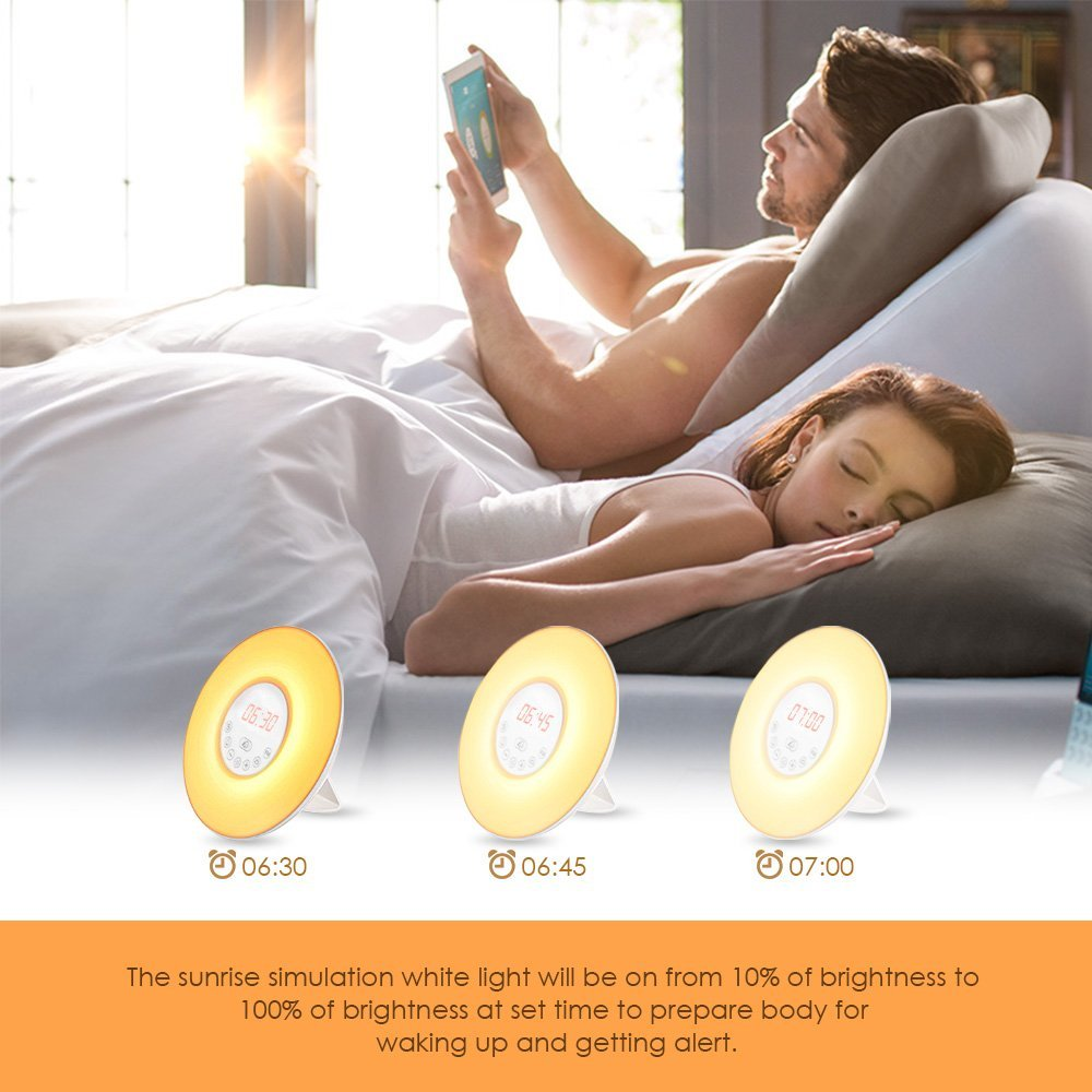 Verilux Rise and Shine alarm clock