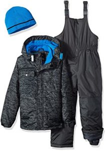 iXtreme Boy's Tonal Print Ski Suit with Gaiter