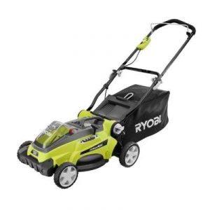 Ryobi 16 in -Behind Lawn Mower 40-Volt Cordless Walk