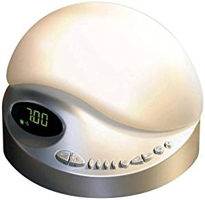 BioBrite Sunrise Clock Radio