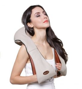 Five S Shiatsu Neck and Back Massager with Heat
