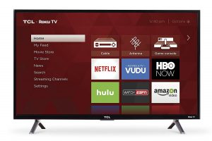 TCL 32S305 Roku Smart LED from 32 inches TV
