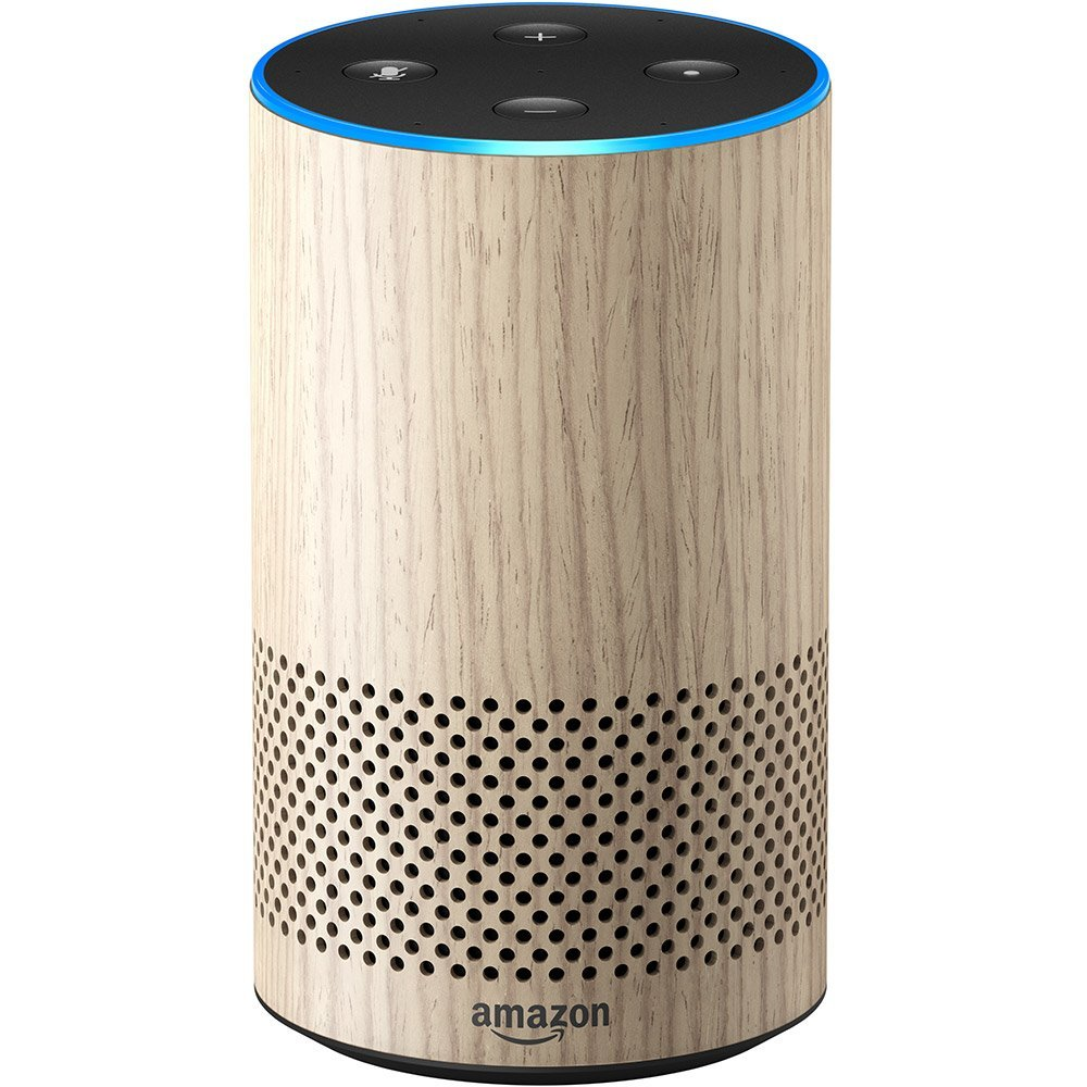 Amazon Echo 2nd Generation Oak Finish