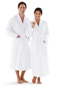 Seven Apparel Hotel Spa Plush Women's Bathrobe