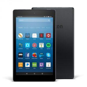 "Fire HD 8 Tablet 8"" HD Display Black with Alexa, 16 GB,"