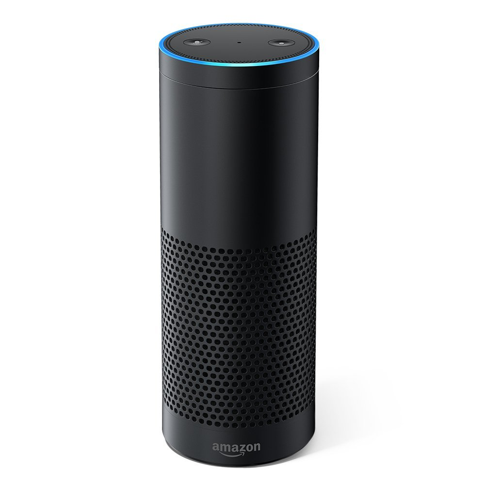 st Generation Certified Refurbished Amazon Echo Speaker (Black)