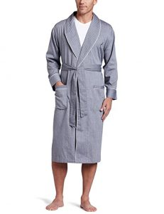 Nautica Men's Long Sleeve Bathrobe