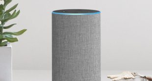 Heather Gray Fabric 2nd Generation Amazon Echo Speaker