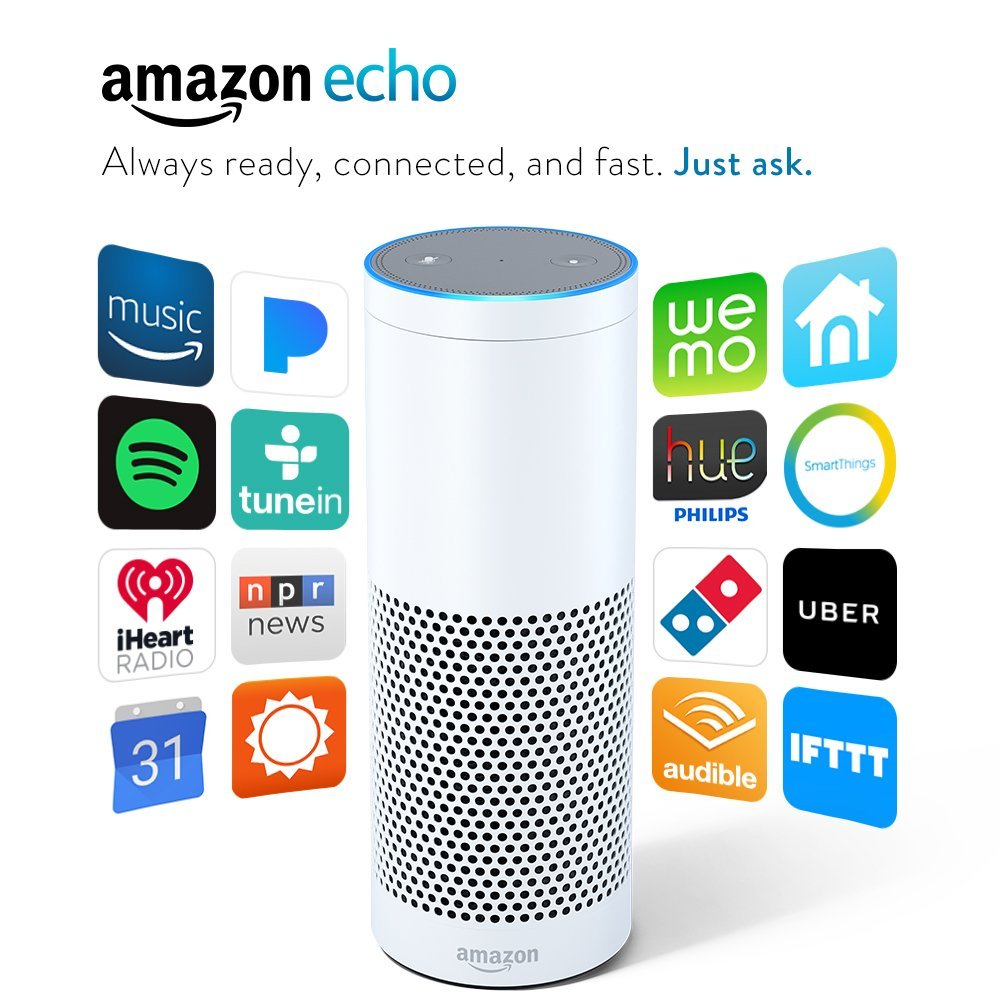 Certified Refurbished 1st Generation Amazon Echo