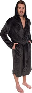 Rose Michael's Men's Hooded Robe
