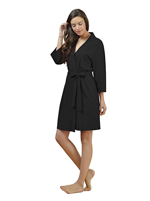 SIORO Women's Cotton Bathrobe