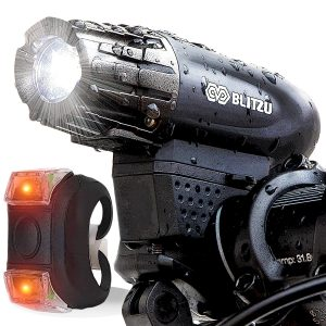 Blitzu Gator 320 USB Powerful Bike Light Set