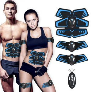 Abdominal Toning Belt,EMS Abs Trainer Fitness Slimming Body Sculptor