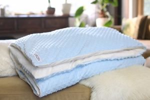 The UBEQEO Removable Sensory Weighted Blanket