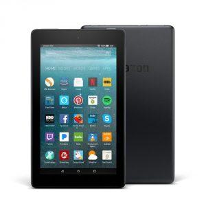 "Fire 7 Tablet that has Alexa, 7"" Display, Black 8 GB"