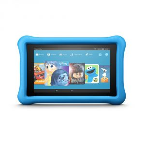 "Fire 7 Tablet Kids Edition, 16 GB, 7"" Display, Blue Kid-Proof Case"