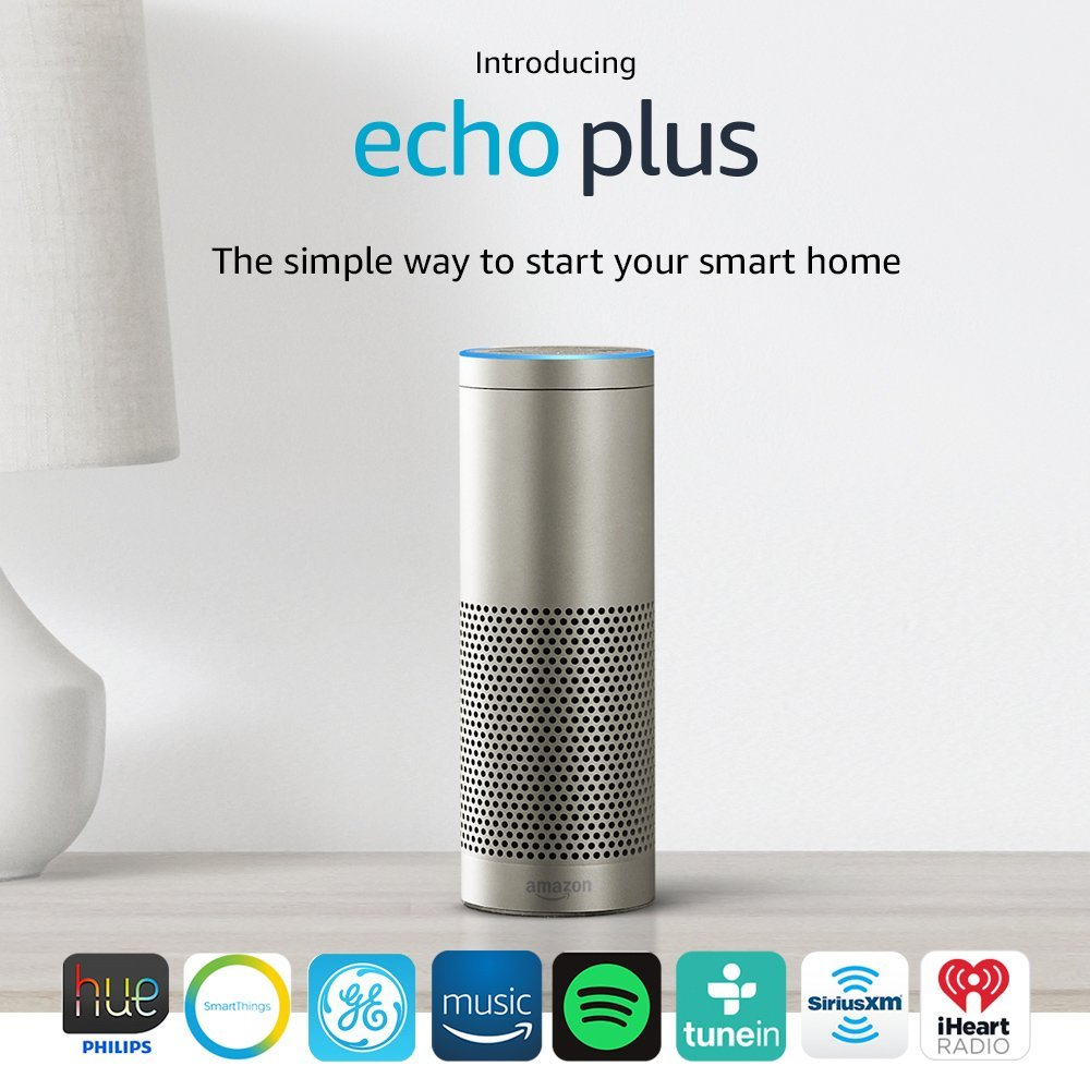 Amazon Echo Plus with Built-in Hub